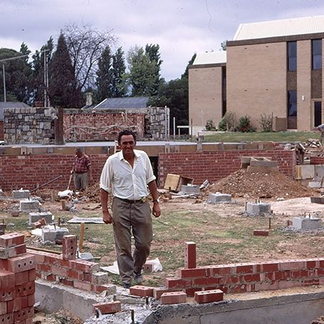 Gallery Image Template 0004 Chapel foundations Foreman by G Bean 1972