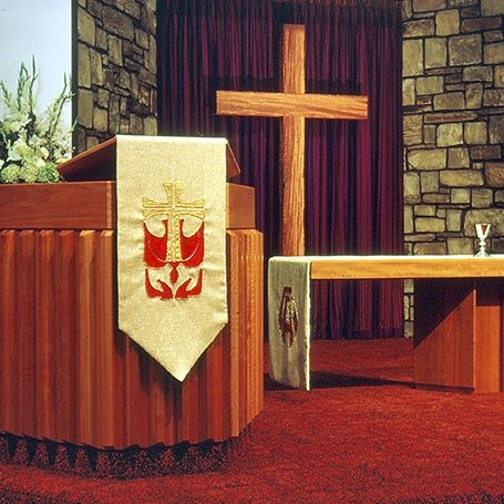 Gallery Image Template 0007 Chapel Chancel pulpit side by G Bean 1972