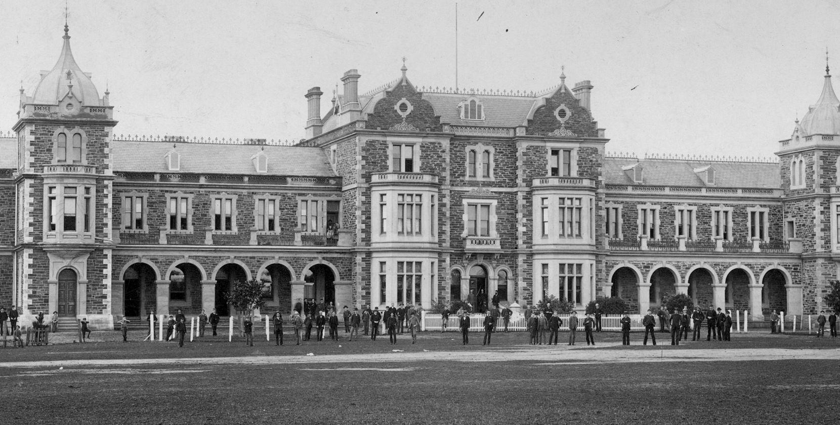 156 Main Building 1885