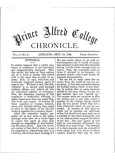 PAC Chronicle 1884 (2) Front Cover