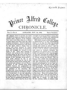 PAC Chronicle 1884 (3) Front Cover