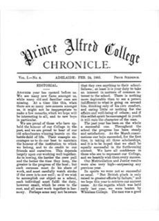 PAC Chronicle 1885 (1) Front Cover