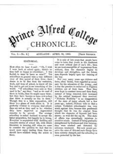 PAC Chronicle 1885 (2) Front Cover