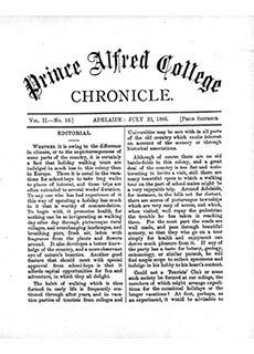 PAC Chronicle 1886 (3) Front Cover