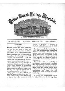 PAC Chronicle 1887 (2) Front Cover