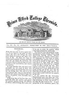 PAC Chronicle 1888 (1) Front Cover