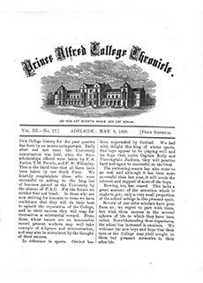 PAC Chronicle 1888 (2) Front Cover
