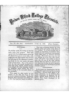 PAC Chronicle 1890 (2) Front Cover