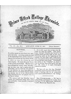 PAC Chronicle 1891 (2) Front Cover