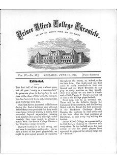 PAC Chronicle 1892 (2) Front Cover