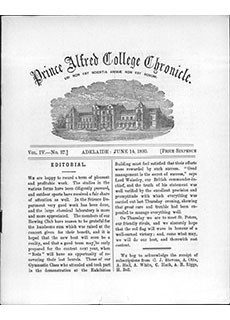 PAC Chronicle 1893 (2) Front Cover