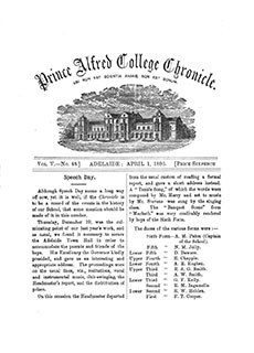 PAC Chronicle 1896 (1) Front Cover