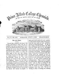 PAC Chronicle 1896 (2) Front Cover