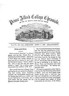 PAC Chronicle 1897 (2) Front Cover