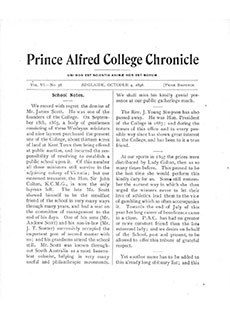 PAC Chronicle 1898 (3) Front Cover