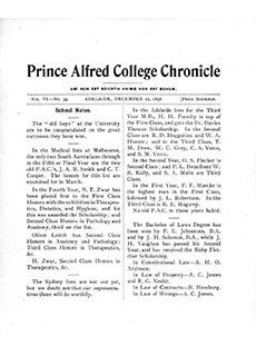 PAC Chronicle 1898 (4) Front Cover