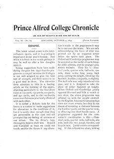 PAC Chronicle 1899 (3) Front Cover