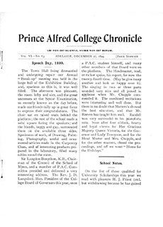 PAC Chronicle 1899 (4) Front Cover