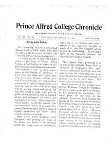 PAC Chronicle 1900 (4) Front Cover