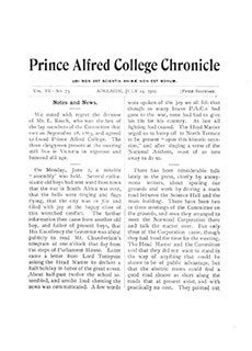 PAC Chronicle 1902 (3) Front Cover