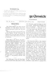 PAC Chronicle 1903 (1) Front Cover