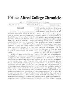 PAC Chronicle 1903 (2) Front Cover