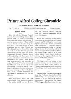 PAC Chronicle 1903 (3) Front Cover