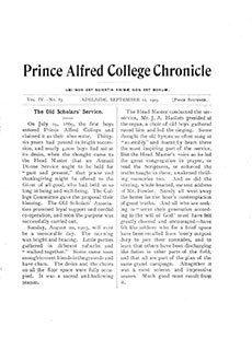 PAC Chronicle 1905 (3) Front Cover