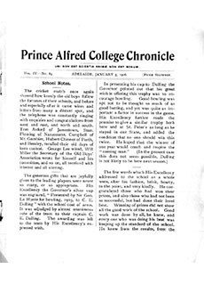 PAC Chronicle 1906 (1) Front Cover