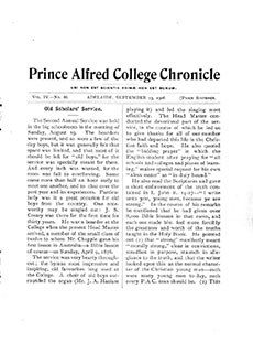 PAC Chronicle 1906 (3) Front Cover