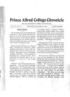 PAC Chronicle 1907 (1) Front Cover