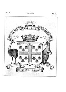 PAC Chronicle 1908 (2) Front Cover