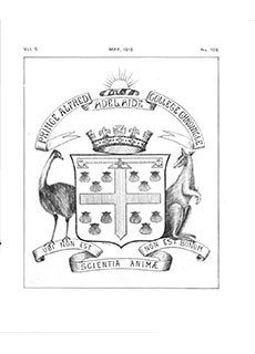 PAC Chronicle 1912 (2) Front Cover