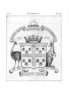 PAC Chronicle 1913 (3) Front Cover