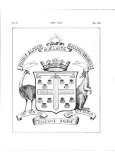 PAC Chronicle 1913 (2) Front Cover