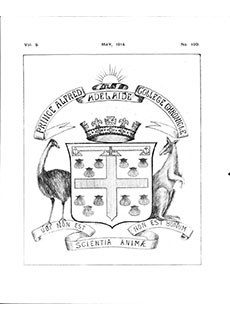PAC Chronicle 1914 (2) Front Cover