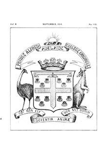PAC Chronicle 1914 (3) Front Cover