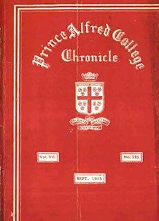PAC Chronicle 1915 (3) Front Cover