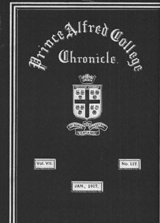 PAC Chronicle 1917 (1) Front Cover