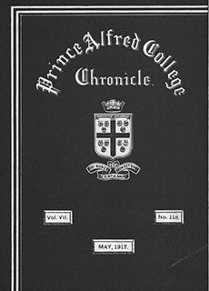 PAC Chronicle 1917 (2) Front Cover