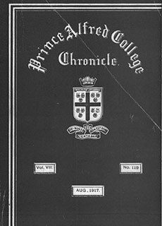 PAC Chronicle 1917 (3) Front Cover