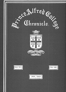 PAC Chronicle 1918 (1) Front Cover