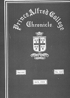 PAC Chronicle 1918 (3) Front Cover