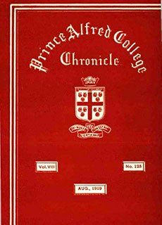 PAC Chronicle 1919 (3) Front Cover