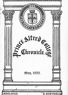 PAC Chronicle 1922 (1) Front Cover
