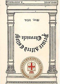PAC Chronicle 1924 (1) Front Cover
