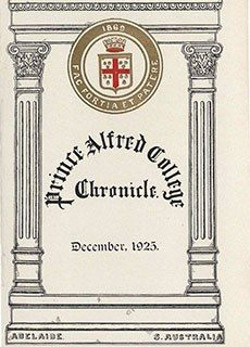 PAC Chronicle 1925 (3) Front Cover