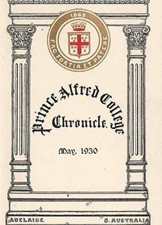 PAC Chronicle 1930 (1) Front Cover