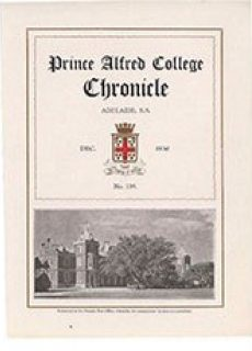 PAC Chronicle 1930 (3) Front Cover