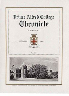 PAC Chronicle 1931 (3) Front Cover